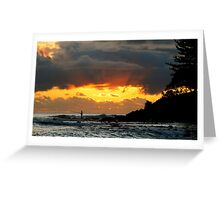 VISION HOUR Greeting Card