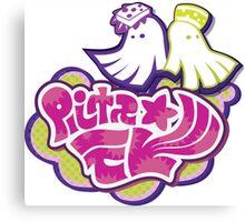 Splatoon Squid Sisters Logo Canvas Print
