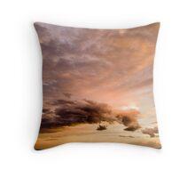 Pastel Sky - Gold Coast - Australia Throw Pillow