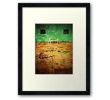 Forgotten Languages Framed Print
