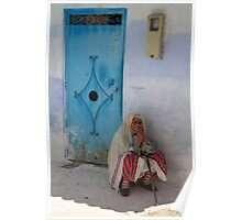 Don't ask me to tell (Chefchaouen, Morocco) Poster
