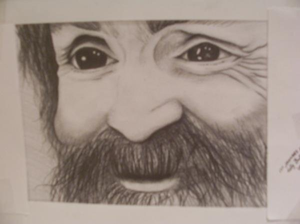 Charles Manson by discopig