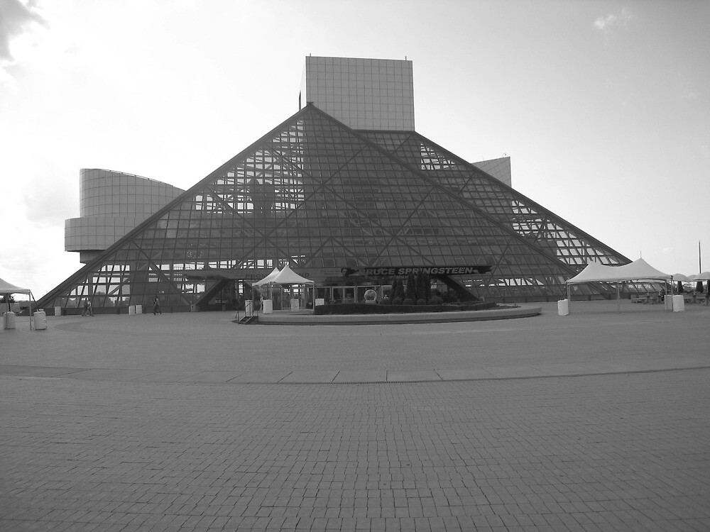 Cleveland Rock Hall Of Fame by deepstarr7020
