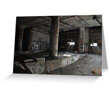Abandoned Detroit 6 Greeting Card
