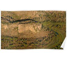 Arnhem Land cliffs from air, NT, Australia Poster