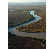 Alligator River meander, Kakadu NP, NT Photographic Print