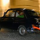 Night-time Drive in Classic Fiat 500, Sorrento  by Petr Svarc