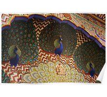Peacock Arch, Jaipur Palace, Jaipur, Rajasthan, India Poster