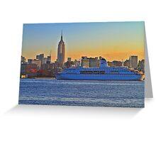 Cruise ship Deutschland ! Greeting Card