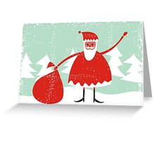 santa card Greeting Card