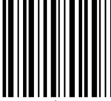 secret barcode Sticker