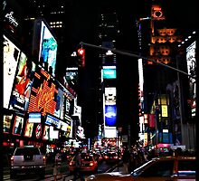 The city that never sleeps- Times Square by Lisaa