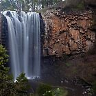 Trentham Falls (Victoria&#x27;s highest?) by Travis Easton