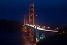 SF Golden Gate Bridge at Twilight by MattGranz