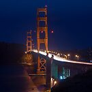 SF Golden Gate Bridge at Twilight by MattGranz