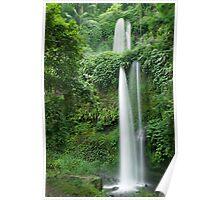 Sendang Gila waterfall  Poster