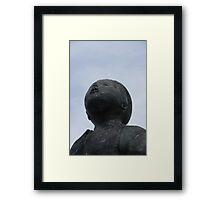 Timber Head Framed Print