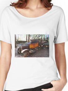 abandon old truck Women's Relaxed Fit T-Shirt