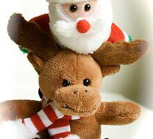 Santa's Reindeer by Cal Gordon
