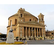 Mosta Dome Photographic Print