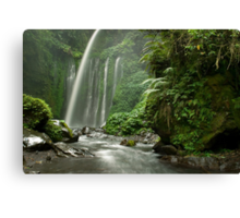 Tiu Kelep waterfall  Canvas Print