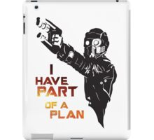 GOTG - Star Lord, Quote 1 iPad Case/Skin
