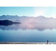 """Steve ~ Lake Manapouri (Fiordland National Park, South Island, NZ)"" Photographic Print"