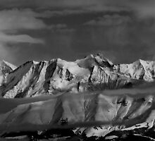 View on the Mont Blanc by alex78230