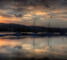Water Colour - Newport, Sydney - The HDR Experience by Philip Johnson