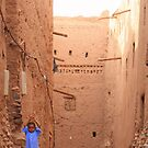 A little blue (Zagora, Morocco) by Christine Oakley