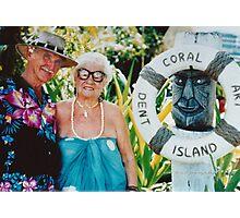 Bill & Lean Wallace Dent Island © Vicki Ferrari Photography Photographic Print
