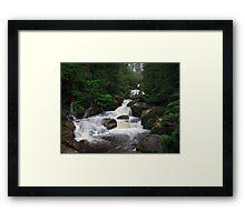 Keppel Falls after heavy rain. Framed Print