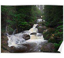 Keppel Falls after heavy rain. Poster