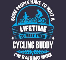 I RAISE MY CYCLING BUDDY Unisex T-Shirt