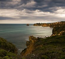 """Split Point Lighthouse""Airey's Inlet,Great Ocean Road by Darryl Fowler"
