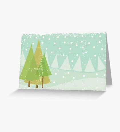winter card Greeting Card