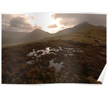 On the way to Pen-y-fan Poster