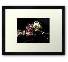 Nassau Street  Christmas  Princeton  Framed Print