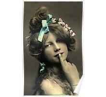 *Sssshhhhh* Vintage Beauty Poster