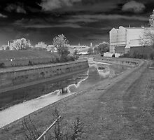 Photographic Art. Urban Landscape. The Canal Waterway's.  by Streetpages