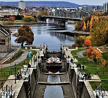 The Locks of Rideau Canal by Ken Yuel