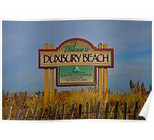 duxbury beach Poster