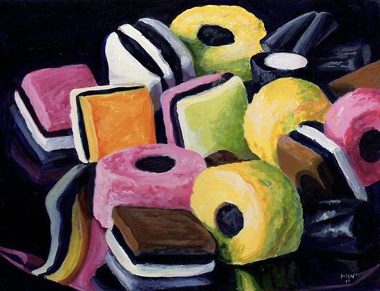 Liquorice Allsorts by Maureen Whittaker
