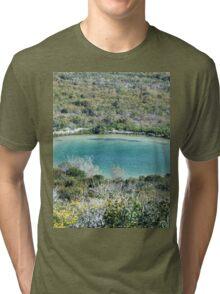 a wonderful Bahamas landscape Tri-blend T-Shirt