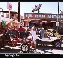 Downtown San Felipe: The Traffic Jam by Nadya Johnson