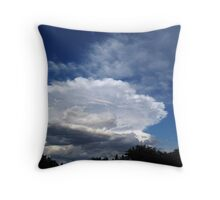 The Angel Painted Skies ! Throw Pillow
