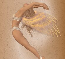 Angel in Flight by LoneAngel
