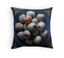 With an Apple, He Astonished Throw Pillow
