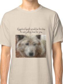 White Wolf & Love Classic T-Shirt