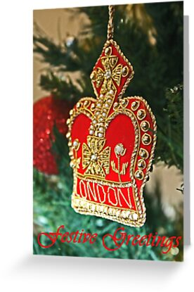 Christmas Card 2 by Jeanne Horak-Druiff